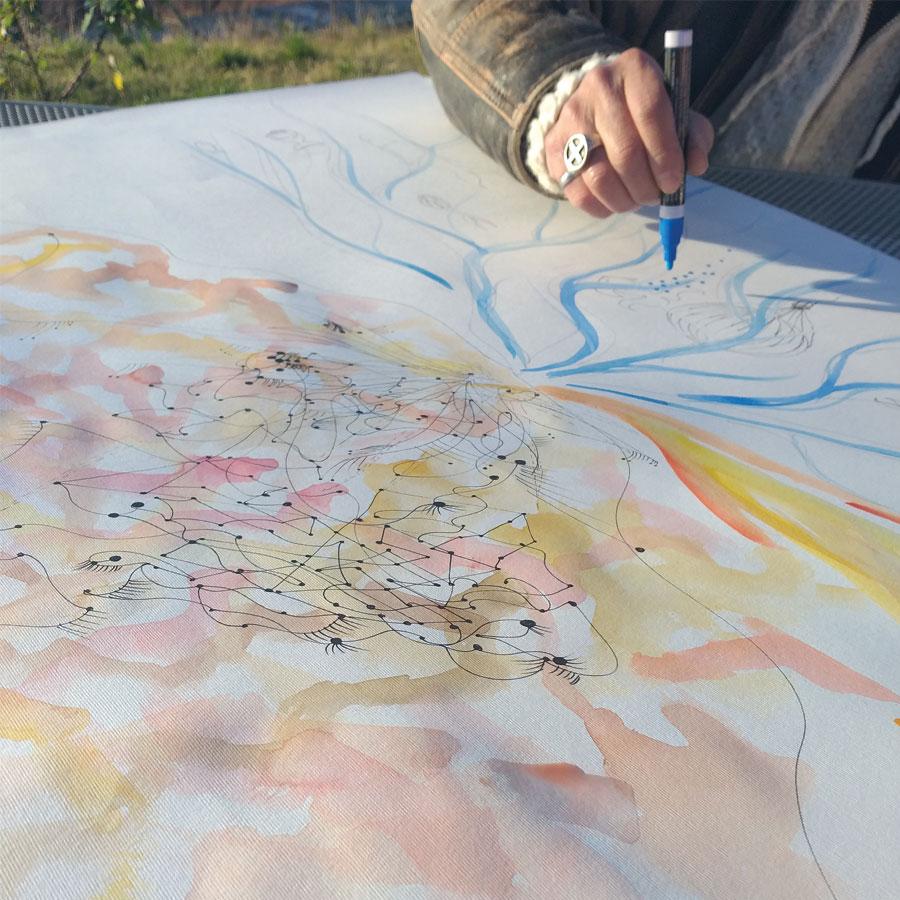 Arteterapia e Mindfulness - Antonella Natalis Italian Marine Painter