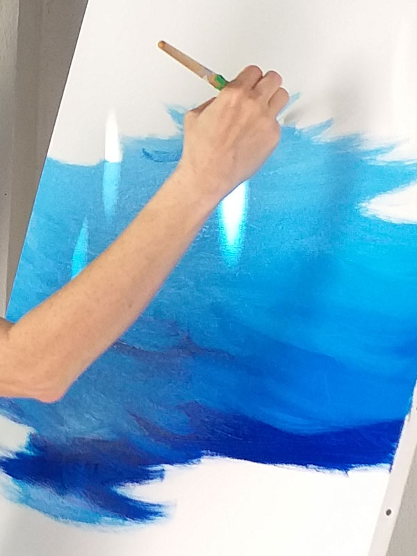 Corsi Pittura - Antonella Natalis Italian Marine Painter