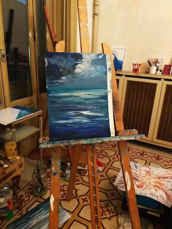 Corsi Pittura a Olio Mare e Paesaggi Marini - Italian Marine Painter